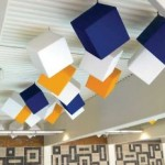acoustic ceiling products cubes