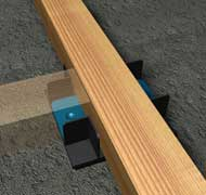 Acoustic Flooring Cradle and Batten