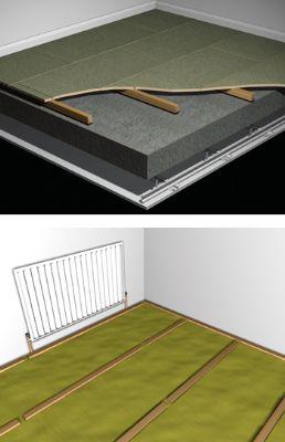 Park Bearer Acoustic Floor Bearer For Soundproofing