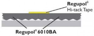 Regupol 6010BA Acoustic Screed Underlay Joint Detail