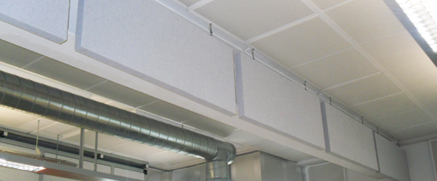 SuperPhon Suspended Absorbers