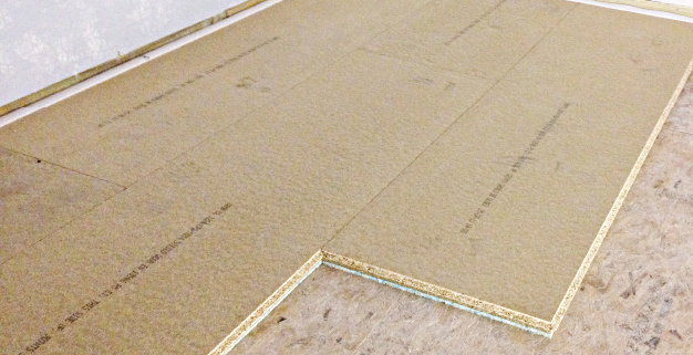 Floor and Ceiling Soundproofing System Overlay Boards