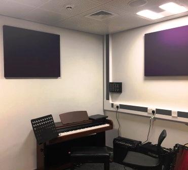 Sound absorption wall panels
