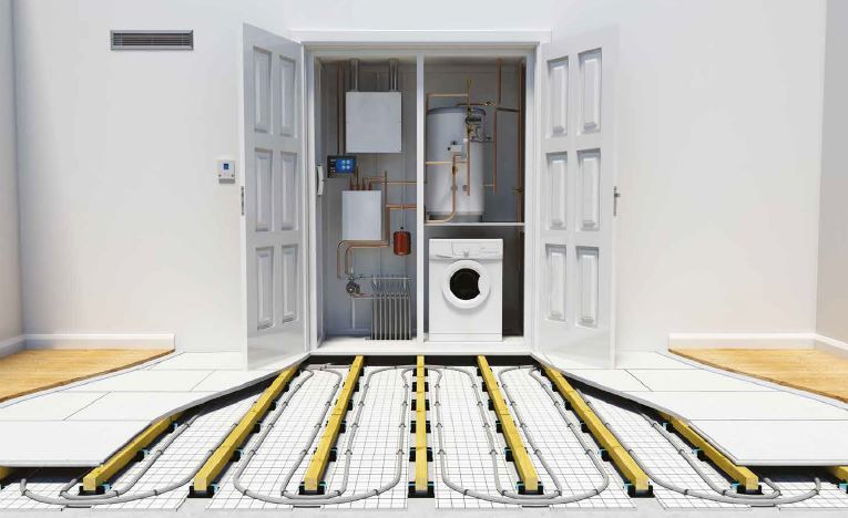 Acoustic and Underfloor Heating System Solution