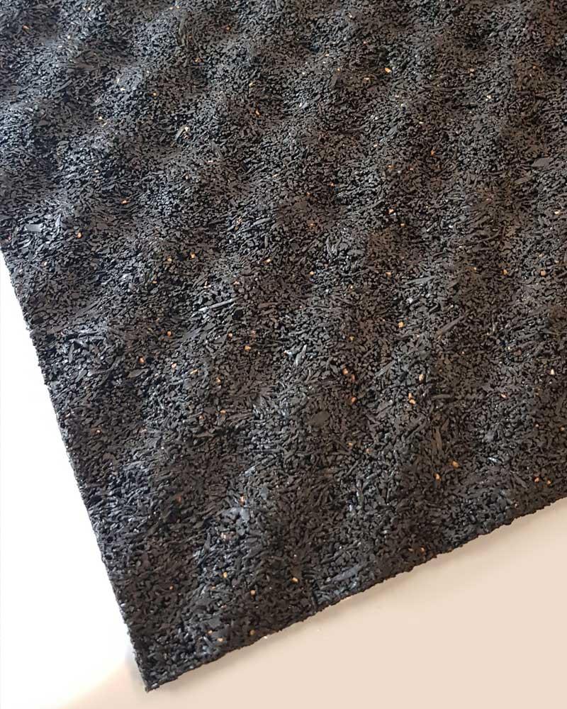 Regupol 6010BA Acoustic Underscreed Material Corner Detail