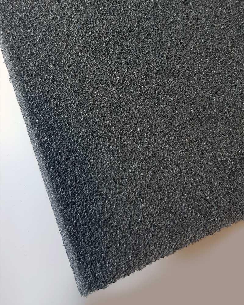 Soundlay Foam Underscreed Material Corner Detail