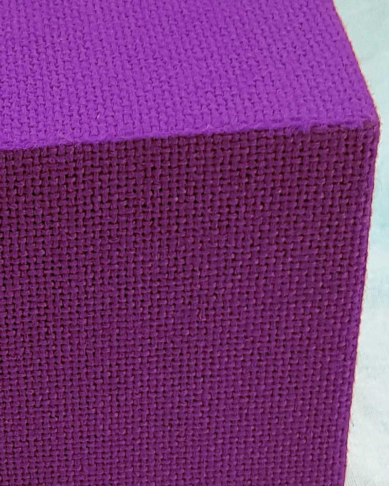 Ceiling Suspended Acoustic Cubes Purple