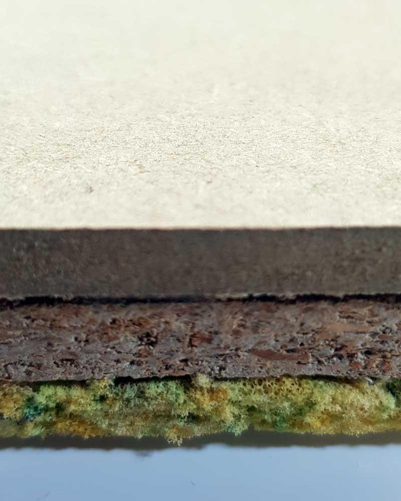 Karma Visco 21 Acoustic Flooring Edge Detail