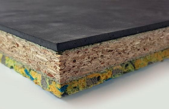 Acoustic Overlay Flooring