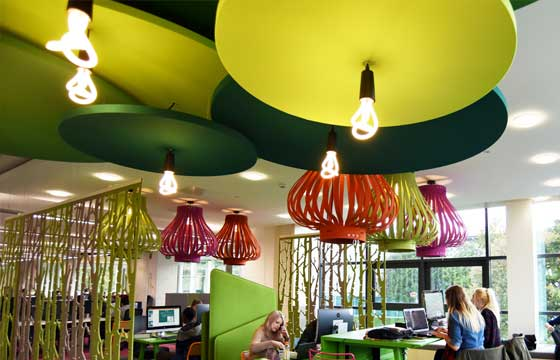Ceiling-Suspended Acoustic Absorbers