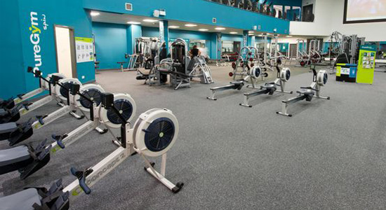 Gymnasium acoustics and soundproofing case study image one