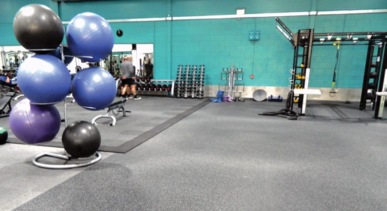 Gymnasium acoustic and soundproofing case study image 2