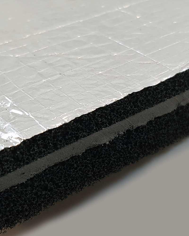 Superlag Type FL Acoustic Lagging Edge Detail