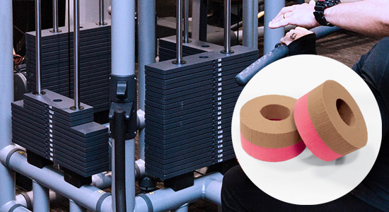 Resistance Machine Soundproofing Impact Washers
